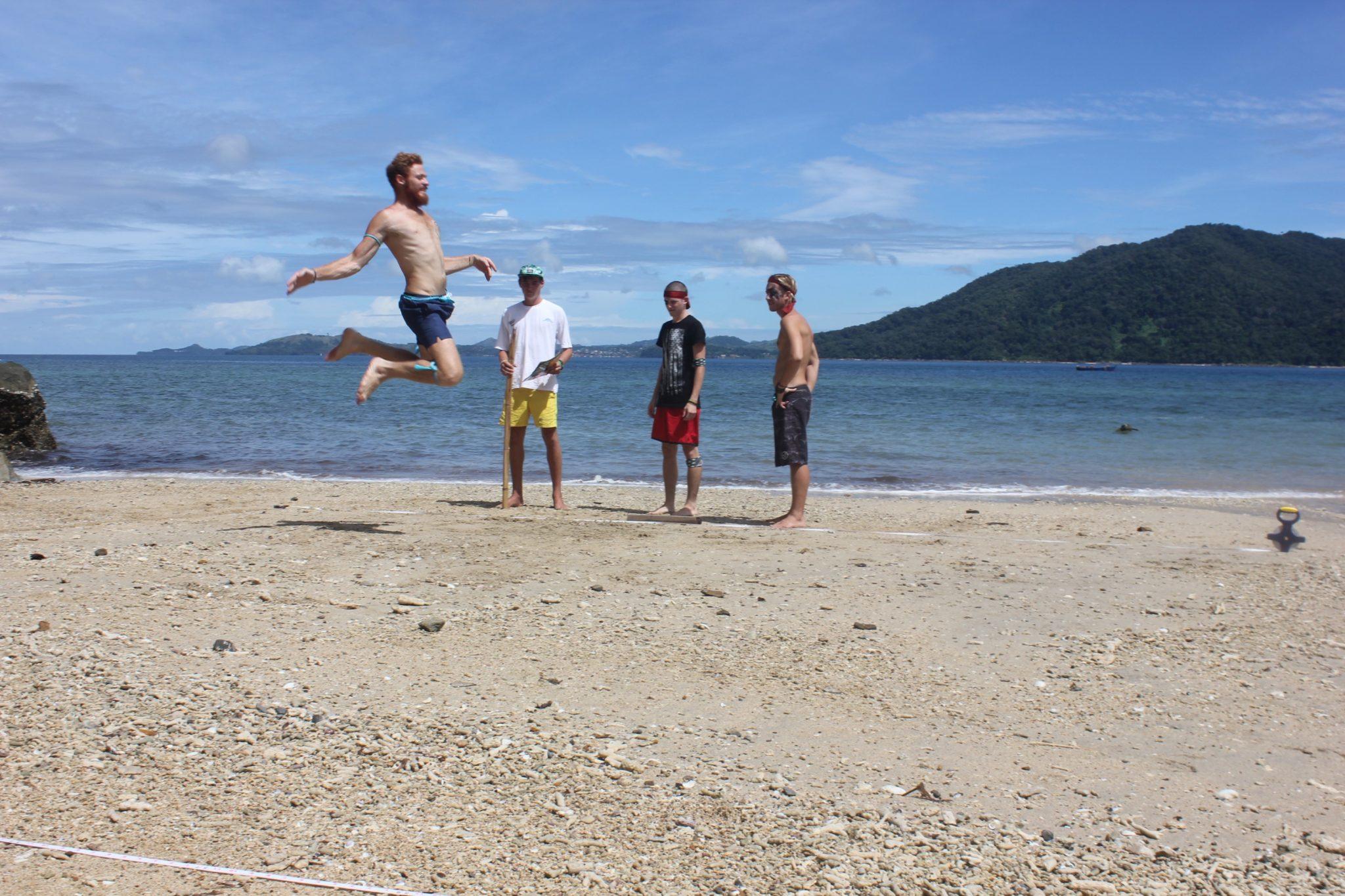 Volunteers & Staff Turtle Cove Olympics - long jump